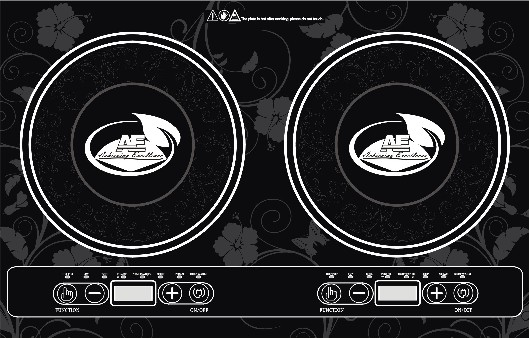 AE Double Induction cooker  GTA 12-2 - LEFT click for more details