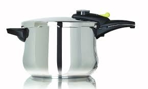 STAINLESS STEEL 6 LITRE PRESSURE COOKER