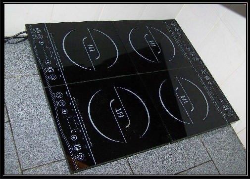 IH Four Plate Induction cooker  GTA 12-4 - click for more details